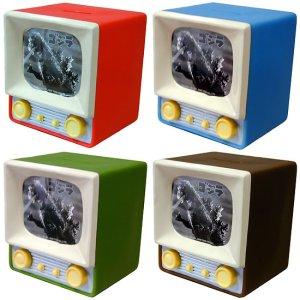 画像1: 懐かしテレビ貯金箱「ゴジラ」