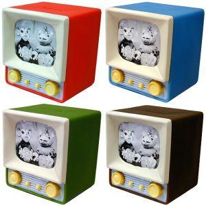 画像1: 懐かしテレビ貯金箱「快獣ブースカ」