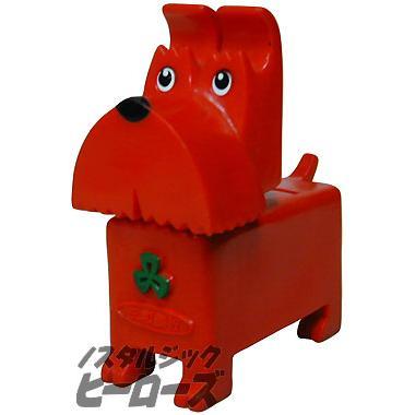 画像1: 三和銀行/テリア犬貯金箱(レッド) 三和銀行/テリア犬貯金箱(レッド) - ノスタルジ