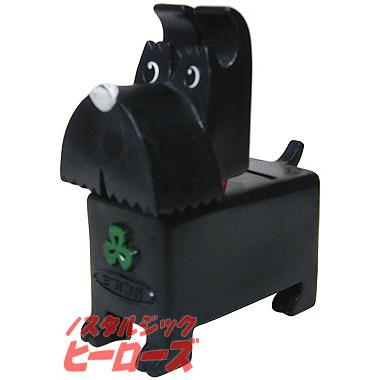 画像1: 三和銀行/テリア犬貯金箱(ブラック) 三和銀行/テリア犬貯金箱(ブラック) - ノスタ