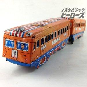 画像2: 光球商会/ブリキの電車 地下鉄「渋谷-浅草」