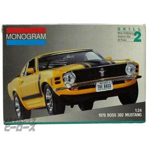 画像1: モノグラム/「1970 ボス 302 マスタング」1/24スケールプラモデル