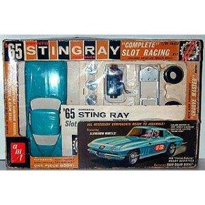 画像1: amt/コルベットスティングレイ'65(スロットカー)