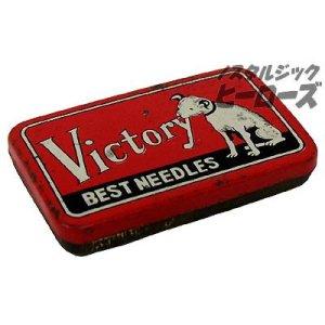 画像1: Victory/ブリキケース入りレコード針