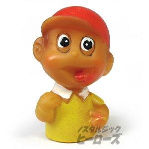 画像1: 中嶋製作所/オバケのQ太郎「正ちゃん」ソフビ指人形