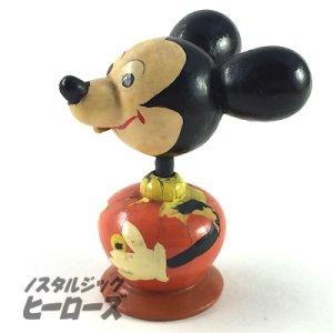 画像2: 古いミッキーマウスこけし