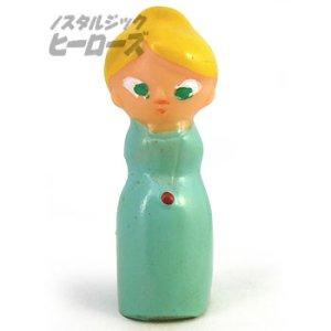 画像1: ひょっこりひょうたん島 「サンデー先生」ソフビ指人形