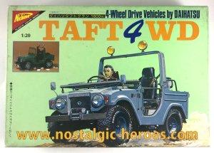 画像1: ニチモ/シリーズNo.2「ダイハツ・タフト4WD」1/20スケールプラモデル