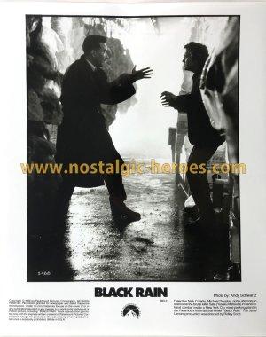 画像1: 映画ブラックレイン プレスシート「BLACK RAIN」ハリウッド版