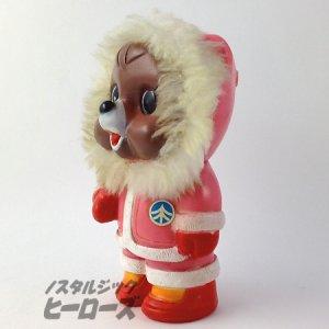 画像2: 拓銀/クマのたくちゃん貯金箱 エスキモー