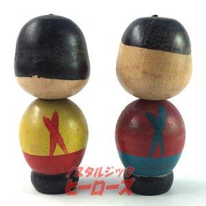 画像4: 不二家ペコちゃん&ポコちゃんこけしJ ハイカップ景品