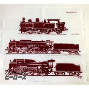 画像2: コーワ/蒸気機関車ハンカチ