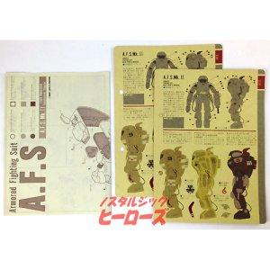 画像5: 日東科学/S.F.3.D ORIGINAL A.F.S 1/20スケールプラモデル